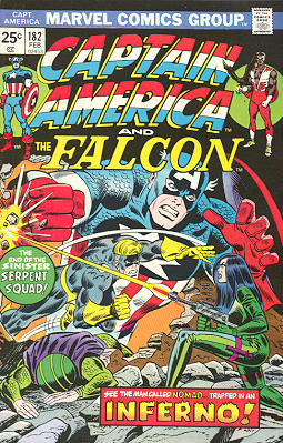 Brubaker et la continuité sur Captain America (Fiches - en cours) 182