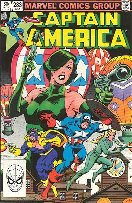 Brubaker et la continuité sur Captain America (Fiches - en cours) 283