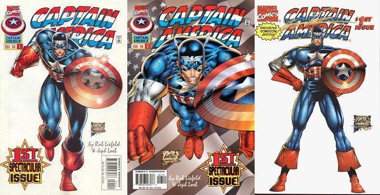 Brubaker et la continuité sur Captain America (Fiches - en cours) 1