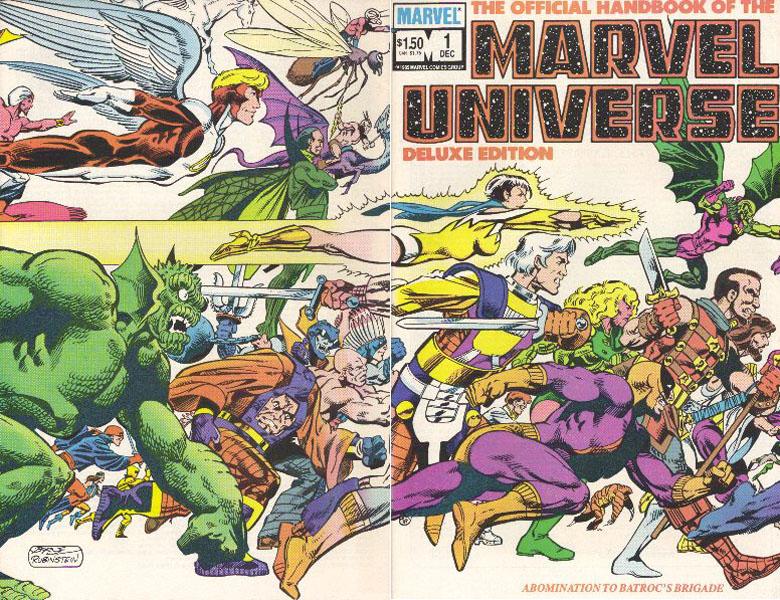 Manuel Officiel de l'Univers Marvel Edition Deluxe 1