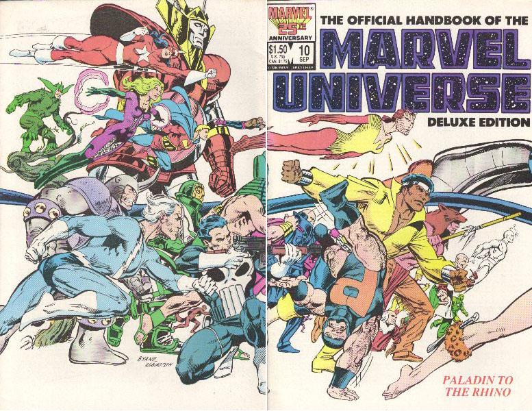 Manuel Officiel de l'Univers Marvel Edition Deluxe 10