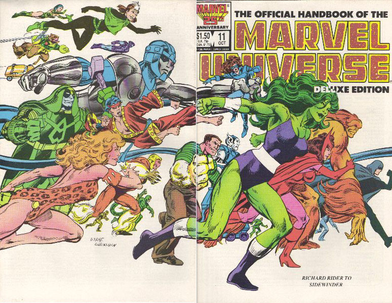 Manuel Officiel de l'Univers Marvel Edition Deluxe 11