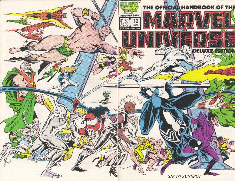 Manuel Officiel de l'Univers Marvel Edition Deluxe 12