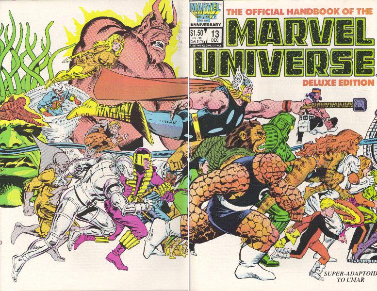 Manuel Officiel de l'Univers Marvel Edition Deluxe 13