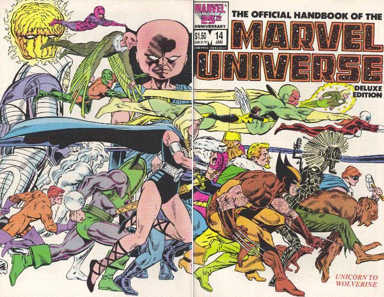 Manuel Officiel de l'Univers Marvel Edition Deluxe 14