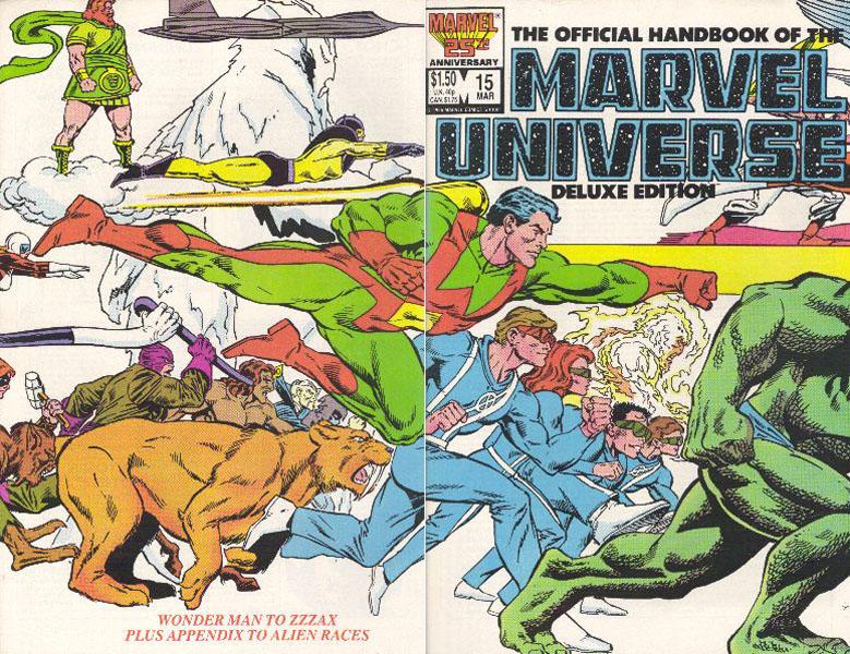 Manuel Officiel de l'Univers Marvel Edition Deluxe 15