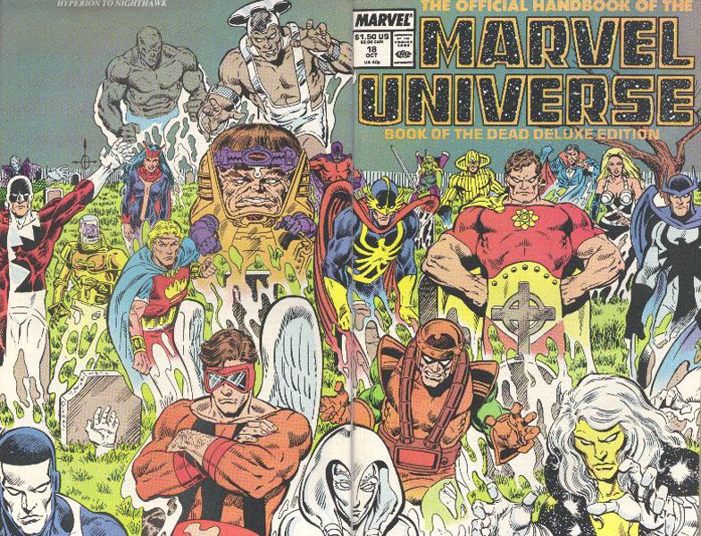 Manuel Officiel de l'Univers Marvel Edition Deluxe 18