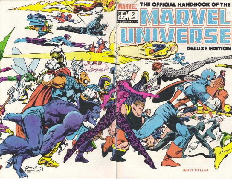 Manuel Officiel de l'Univers Marvel Edition Deluxe 2