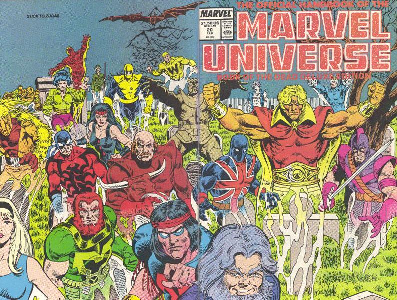 Manuel Officiel de l'Univers Marvel Edition Deluxe 20