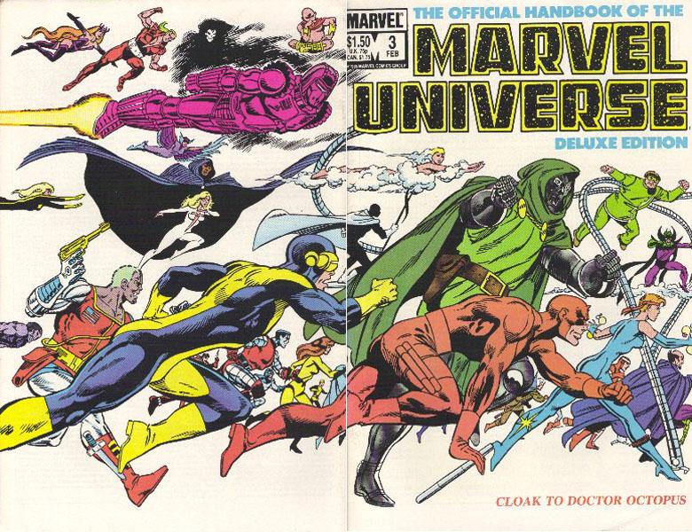 Manuel Officiel de l'Univers Marvel Edition Deluxe 3