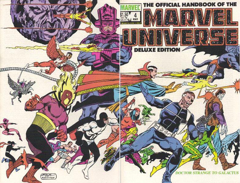 Manuel Officiel de l'Univers Marvel Edition Deluxe 4