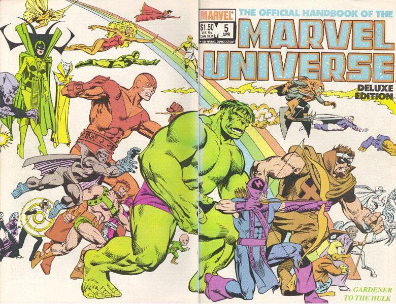 Manuel Officiel de l'Univers Marvel Edition Deluxe 5
