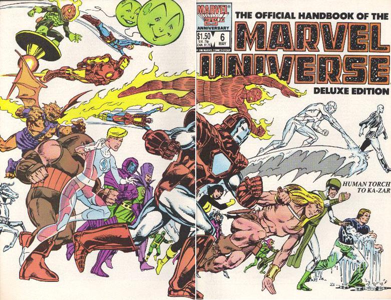 Manuel Officiel de l'Univers Marvel Edition Deluxe 6