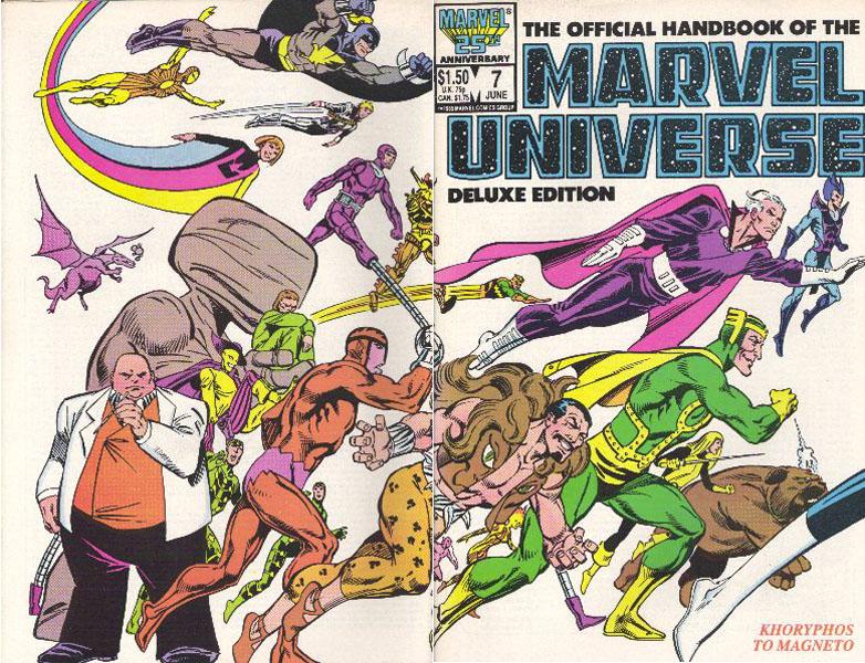 Manuel Officiel de l'Univers Marvel Edition Deluxe 7