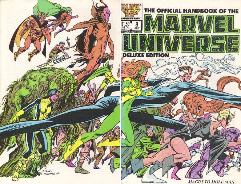 Manuel Officiel de l'Univers Marvel Edition Deluxe 8