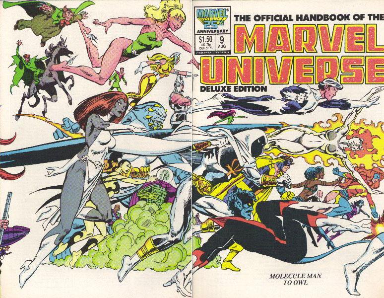Manuel Officiel de l'Univers Marvel Edition Deluxe 9