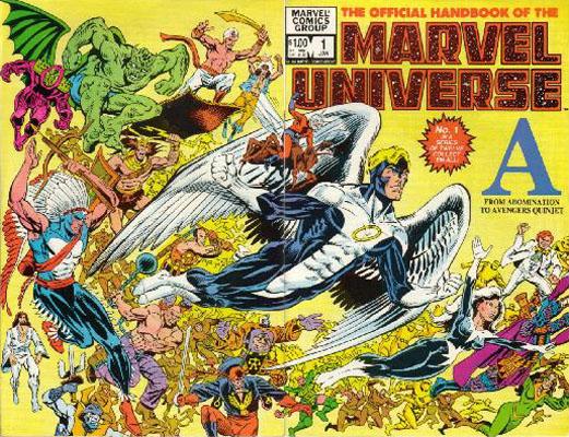 Manuel Officiel de l'Univers Marvel 1