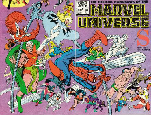 Manuel Officiel de l'Univers Marvel 10