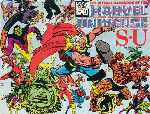 Manuel Officiel de l'Univers Marvel 11
