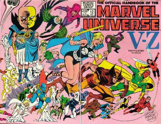 Manuel Officiel de l'Univers Marvel 12