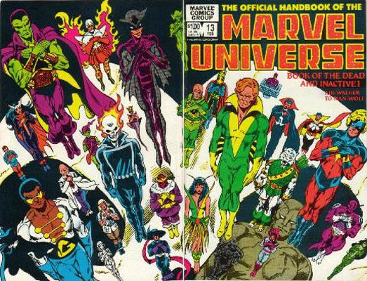 Manuel Officiel de l'Univers Marvel 13