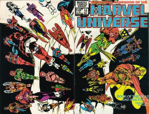 Manuel Officiel de l'Univers Marvel 14