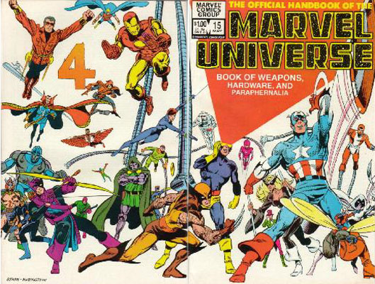 Manuel Officiel de l'Univers Marvel 15