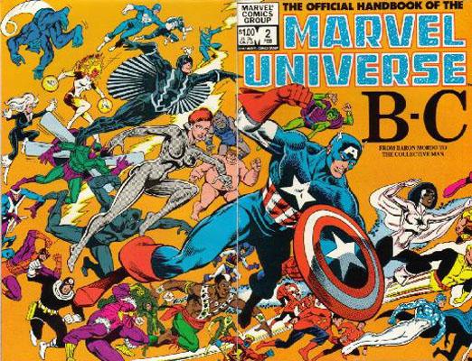 Manuel Officiel de l'Univers Marvel 2