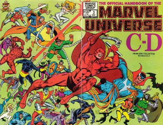 Manuel Officiel de l'Univers Marvel 3