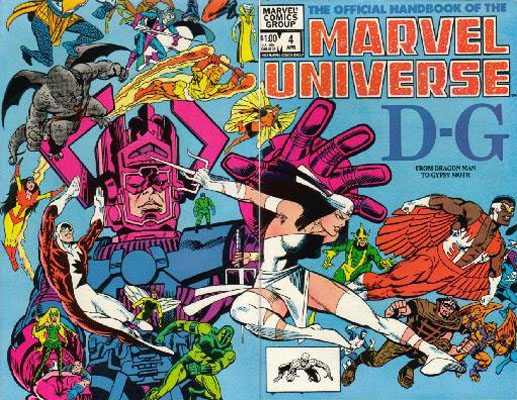 Manuel Officiel de l'Univers Marvel 4