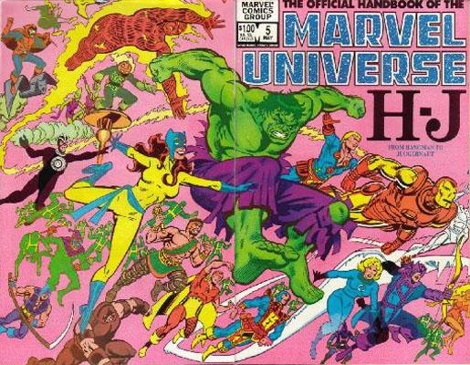 Manuel Officiel de l'Univers Marvel 5