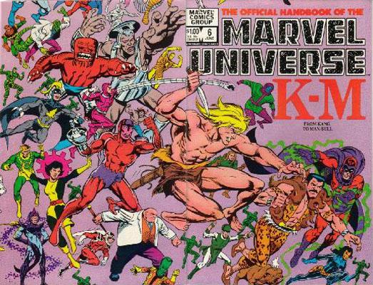Manuel Officiel de l'Univers Marvel 6