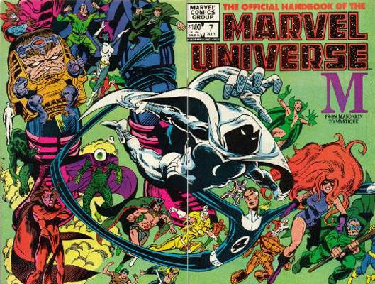 Manuel Officiel de l'Univers Marvel 7