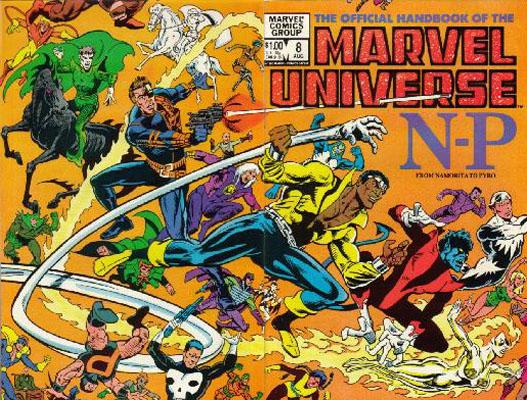 Manuel Officiel de l'Univers Marvel 8