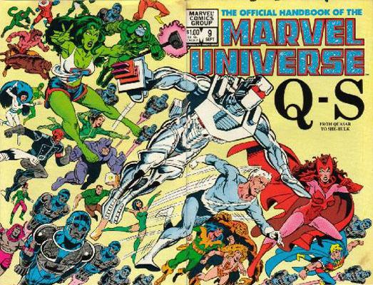 Manuel Officiel de l'Univers Marvel 9