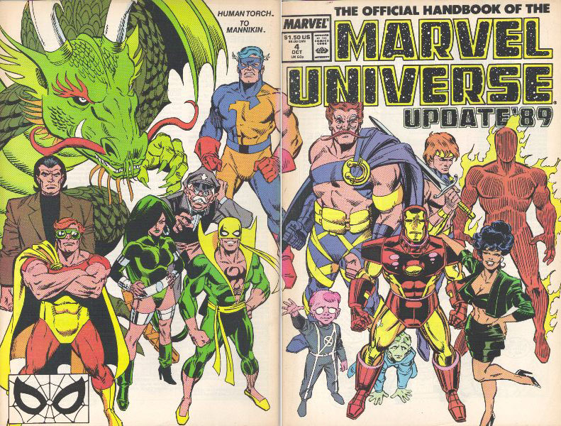Manuel Officiel de l'Univers Marvel Addition 89 4