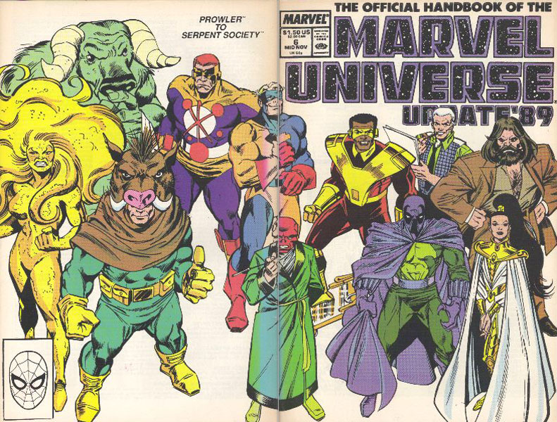 Manuel Officiel de l'Univers Marvel Addition 89 6