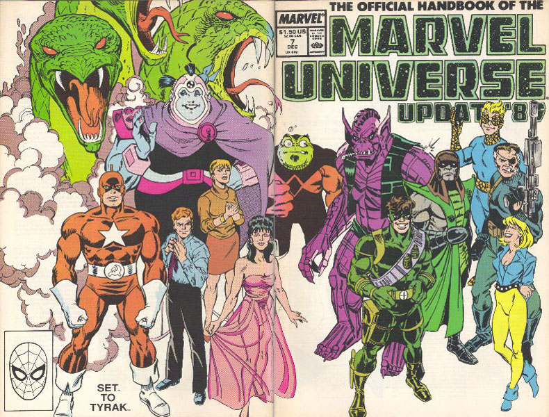 Manuel Officiel de l'Univers Marvel Addition 89 7