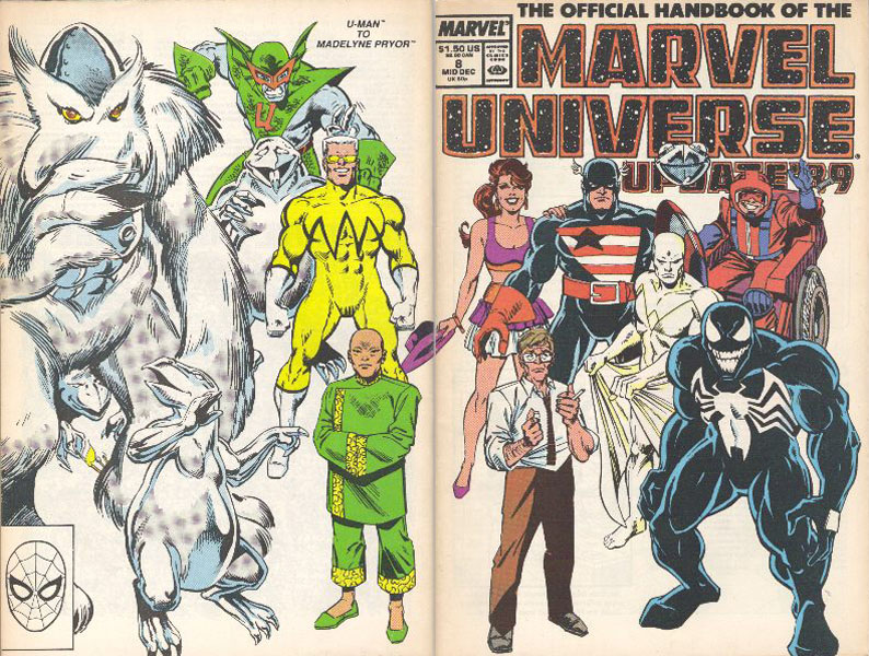 Manuel Officiel de l'Univers Marvel Addition 89 8